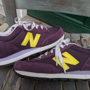 Women's New Balance 501 Purple Sneakers Size 6.5M